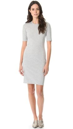 Click Image Above To Purchase: Phillip Lim Short Sleeve Contour Dress Neiman Marcus Dresses, Professional Outfits, 3.1 Phillip Lim, Contour, Dresses For Work, Legs, Stylish, My Style, Womens Fashion