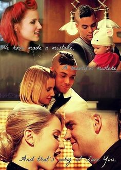 Quinn and Puck