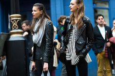 London Fashion Week Spring 2014 Street Style, Day 2