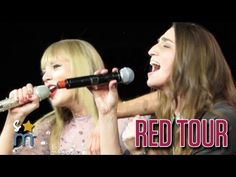 "Taylor Swift & Sara Bareilles - ""Brave"" at Staples Center [HD]"