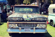 Motor'n | Brother's Chevy Truck Show