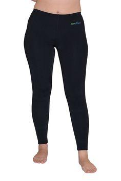 UV PROTECTION CLOTHES SWIM TIGHTS LIGHT WEIGHT PLUS SIZE BLACK FOR WOMEN #ECOSTINGER #SWIMTIGHTSPLUSSIZEBLACK