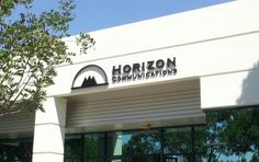 Horizon Communications - Business Sign | Starfish Signs & Graphics