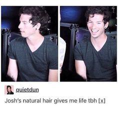 Image result for markiplier vs josh dun hair