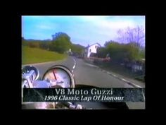 MOTO GUZZI V-8 Laps The Isle of Man, 1996