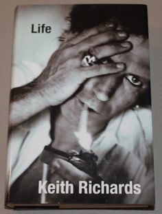 """""""Life"""" by Keith Richards, 2010 hardcover first edition (Rolling Stones biography book)"""