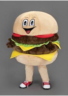 Burger Mascot Costume