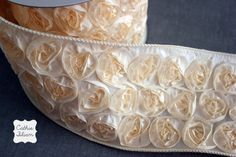 rose ribbon ivory - Google Search