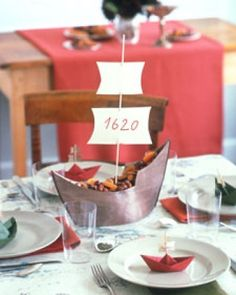 mayflower centerpiece
