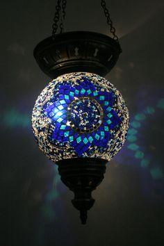 EXTRA LARGE TURKISH MOROCCAN MOSAIC HANGING LAMP SHADE PENDANT LANTERN XMAS GIFT Foyer Pendant Lighting, Lantern Pendant, Ceiling Pendant, Chandelier, Ceiling Lights, Hanging Lamp Shade, Moroccan Lamp, Round Ottoman, Lanterns