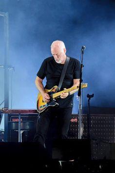 David Gilmour. Marzo 27- 2016 The Forum. Inglewood (California) Cortesia https://www.facebook.com/TheForum/