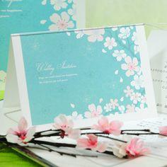 かのん桜/招待状 http://www.farbeco.jp/shopdetail/036001000076/