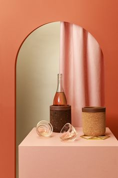 Melanie Abrantes Releases New Collection Inspired by the California Coast - Design Milk - Art Triangles, Milk Art, Earthy Color Palette, Old Lamps, Prop Styling, California Coast, Glass Vessel, Glass Containers, Everyday Objects