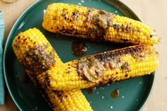 Christmas Lunch: Barbecued corn with paprika spiced butter main image