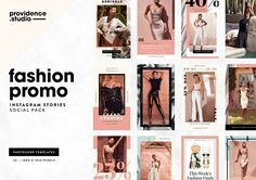 Fashion Promo IG Stories Pack by Providence Studio on @creativemarket