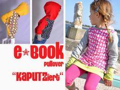 Jenseits von 08 und 15: E-Book Kapuzen-Pullover Hoody Nähanleitung