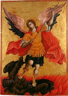 Th. Poulakis, L'Arcangelo Michele