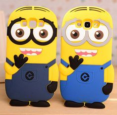 3D Cartoon Samsung J1 J5 J7 Despicable Me 2 Minions Cases For Samsung Galaxy J1 J5 J7 A3 A5 A7 A8 Phone Case Back Cover