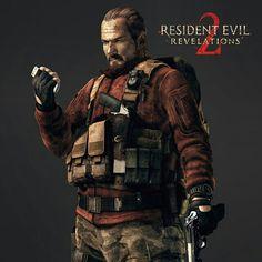 Barry Burton - Resident Evil: Revelations 2.