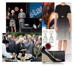 """""""Visiting  """"A Garden Party To Make A Difference"""" with David"""" by margaretofwales ❤ liked on Polyvore featuring Jason Wu, Tiffany & Co., Nina Ricci and L.K.Bennett"""