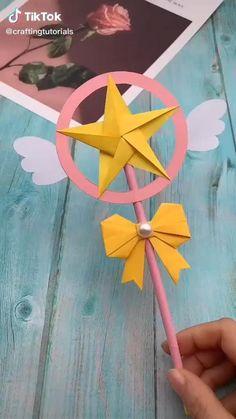 Diy Crafts Hacks, Diy Crafts For Gifts, Diy Arts And Crafts, Creative Crafts, Foam Crafts, Paper Crafts Origami, Paper Crafts For Kids, Diy Paper, Diy For Kids
