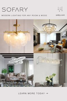 💡 High quality modern lighting at the best price by cutting all the middle costs between manufacturers and consumers so that you can save up to Home Lighting, Modern Lighting, Living Room Decor, Bedroom Decor, Elegant Living Room, Home Upgrades, Luxurious Bedrooms, Home Fashion, Decoration