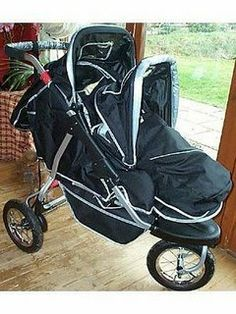I really want a tandem (stadium seat) jogging style stroller, and ...