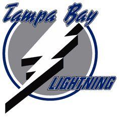 lightning hockey team | Tampa Bay Lightning NHL Hockey Team Logos: 1992 - present