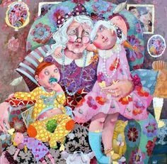 La vieille qui sait ... by Faby Artiste