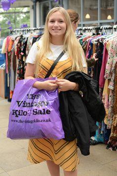 Glasgow Vintage Kilo Sale, August 2016, Shot by Carmen Tran