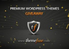 Win 3 premium WordPress themes from ThemeFuse. #giveaway