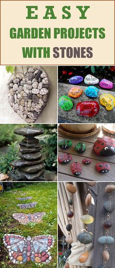 Easy Garden Projects with Stones
