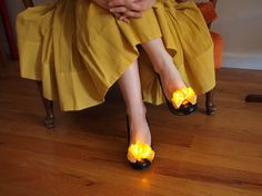 Twinkle toes! Make LED ruffles to customize your shoes in this CRAFT tutorial and video. This easy soft circuit project can get you started in wearable electronics and uses the LED Sewing Kit available in the Maker Shed.
