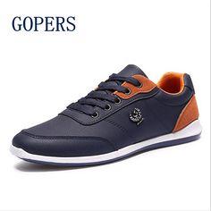 $25.80 (Buy here: https://alitems.com/g/1e8d114494ebda23ff8b16525dc3e8/?i=5&ulp=https%3A%2F%2Fwww.aliexpress.com%2Fitem%2FNew-2016-Men-Shoes-Lace-Up-Designer-Spring-Autumn-Fashion-Men-Casual-Shoes-Outdoor-Male-men%2F32705820201.html ) New 2016 Men Shoes Lace Up Designer Spring Autumn Fashion Men Casual Shoes Outdoor Male men walking shoes For Men Black Blue for just $25.80
