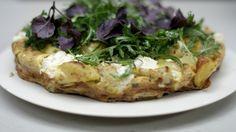 Eén - Dagelijkse kost - frittata met bloemkool, spinazie en feta