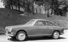 Sketchbook historic cars Pictures: 1954 Italia - Alfa Romeo Milano - Giulietta Sprint...