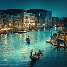 Venice, Italy <3 I'd go back in a heartbeat :)