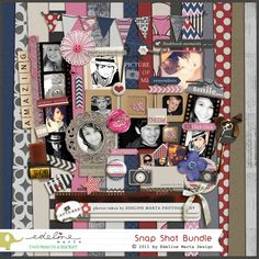The perfect kit for your favorite pictures. Filled with tons of elements and gorgeous colors. Get the bundle and save a lot! Paper Crafts, Diy Crafts, Photo Memories, Your Favorite, In This Moment, Crafty, Creative, Cards, Pictures