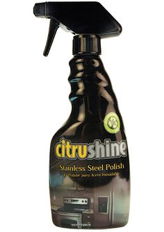 Safe. Clean. Living. Bryson Industries. Citrusafe Stainless Steel Polish and Cleaner