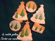 La ratita golosa: Galletas Decoradas Navidad Love this different style