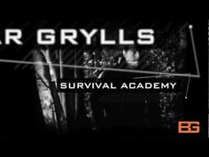 "Bear Grylls Survival Academy  ""It may hurt a little"""