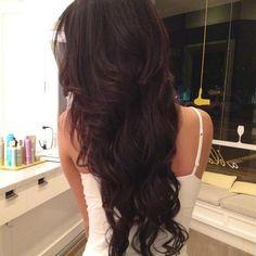 Hairstyle Ideas For Long Dark Hair | Fashion Inspiration Blog