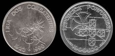 1000  escudos, prata, 1999