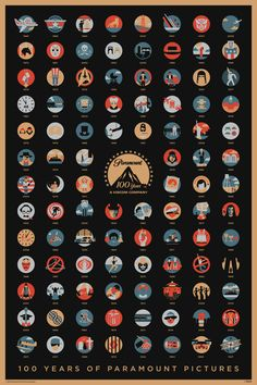 Paramount 100 years poster, how many movies you can recognize? http://moviesoon.com/news/2012/06/100-years-of-paramount-pictures-poster/