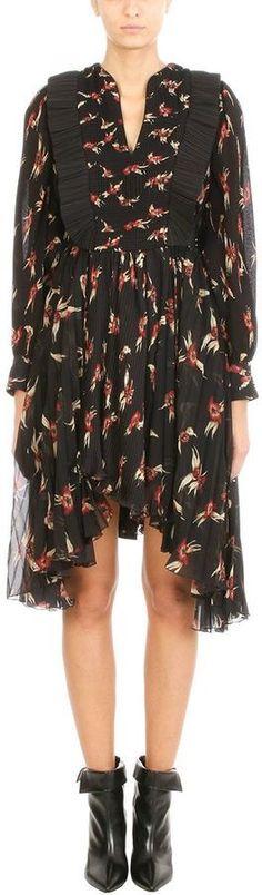 Isabel Marant Wesley Pleated Dress