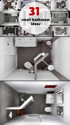 #smallbathroom More