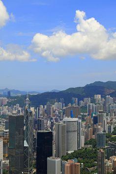 Victoria Peak, Hong Kong #travelnewhorizons