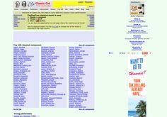 Enlaces a Descargas    http://www.classiccat.net via @url2pin