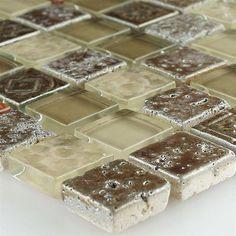 mosaikfliesen misrata glas stein keramik schwarz weiss grau mix1650 zzgl versand mosaikfliesen pinterest - Schwarzweimosaikfliese Backsplash