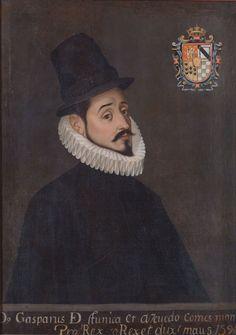 Don Gaspar de Zúñiga y Acevedo, virrey de la Nueva España.